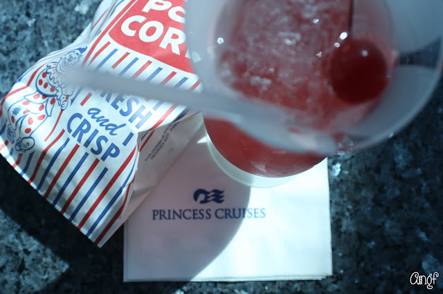 Fresh popcorn and 50th anniversary cocktail from Princess Cruises | Anyonita-nibbles.co.uk