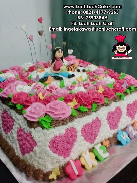 kue tart ulang tahun anak cewek