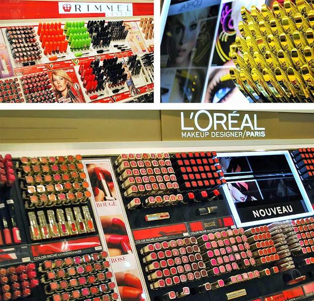 rimmel et l'oréal Pro's & Co Cosmétiques