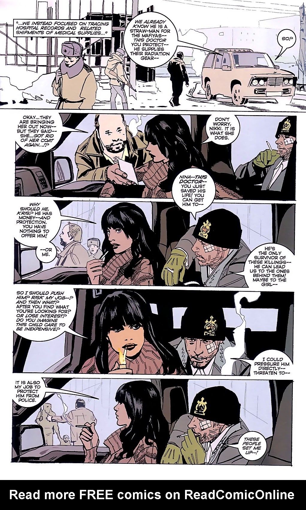 Read online The Winter Men comic -  Issue #3 - 6