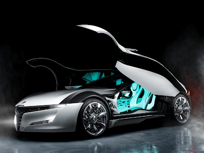 Alfa Romeo Pandion Concept Car Doors Open HD Wallpaper