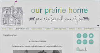 Our Prairie Home blog homepage