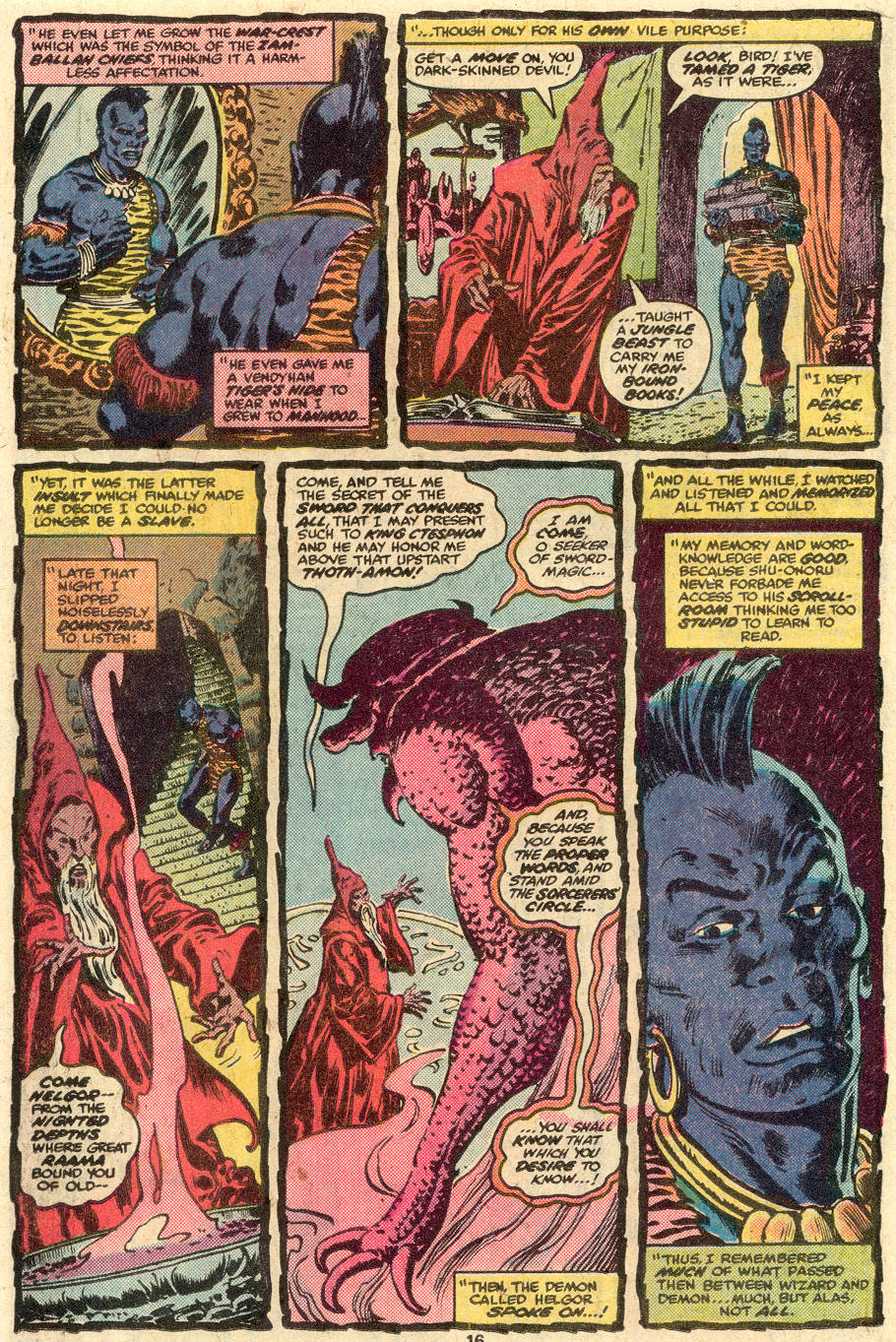 Conan the Barbarian (1970) Issue #85 #97 - English 11