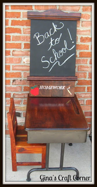 Back-to-School Chalkboard