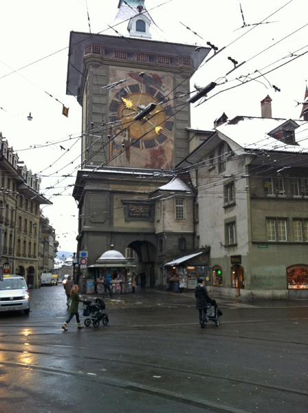 see the most beautfiful clock tower in Bern