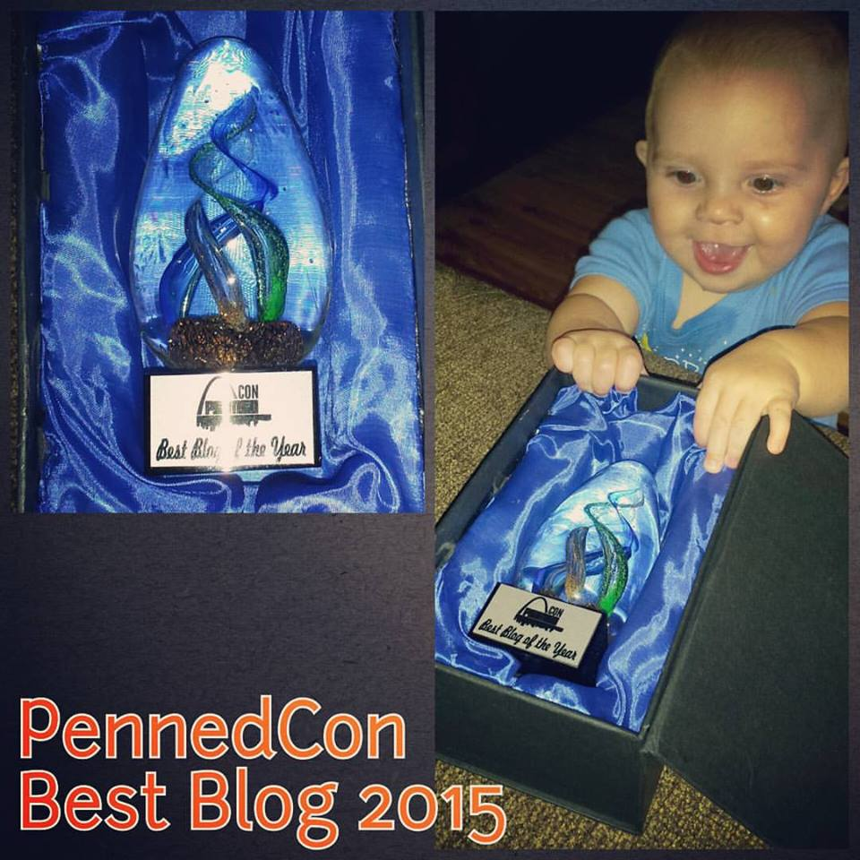 2015 Best Blog of the Year PennedCon