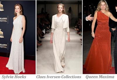 Queen Maxima in Claes Iversen - Sylvia Hoeks