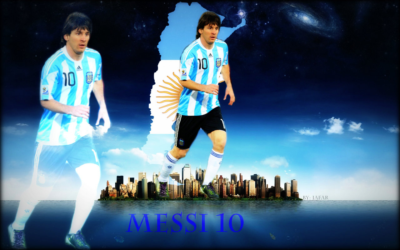Lionel Messi HD Wallpapers 2012