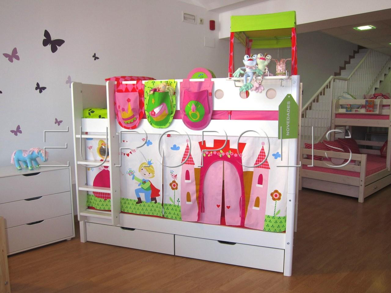 Flexa literas y triliteras for Dormitorios infantiles literas