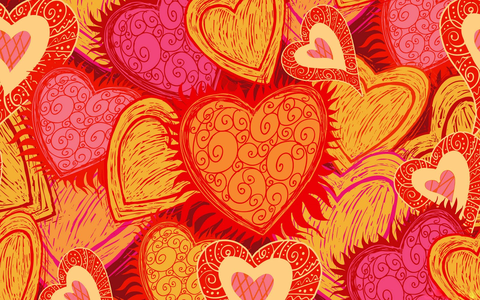 Wallpaper You Can Color the color of hearts wallpaper | colorful background wallpapers