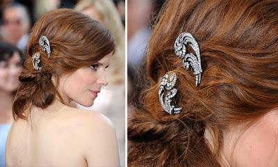 Kate Mara penteado