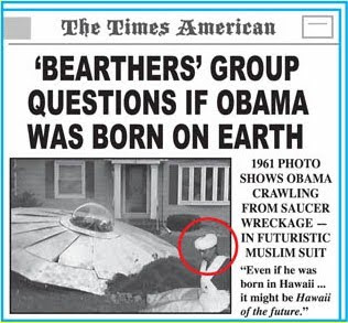 Bearhters group questions if Obama was born on Earth