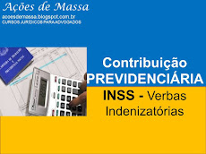 INSS - VERBAS INDENIZATÓRIAS