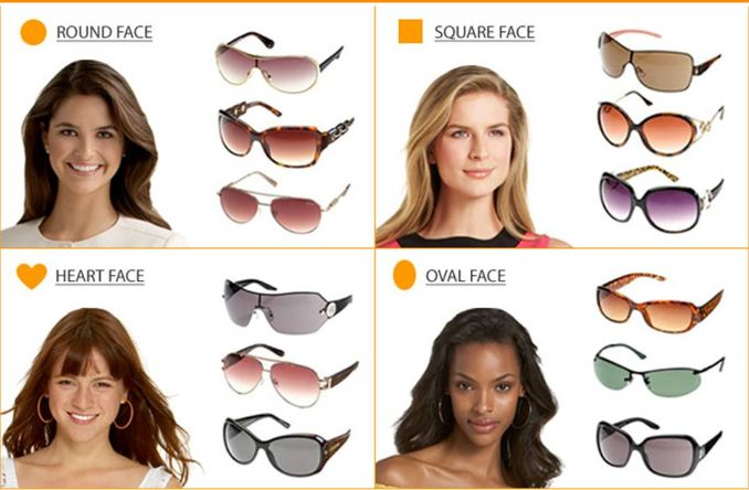 Find Sunglasses Suit Your Face Shape | Tips For Beautiful Women and ...