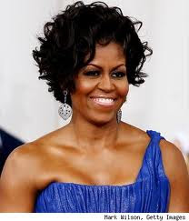 K Michelle Short Hairstyles 2012 Michelle Obama Rocking Natural Afro Hairdo