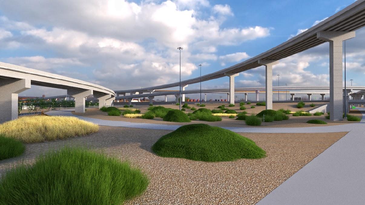 El Paso Development News Americas Interchange Landscape Options