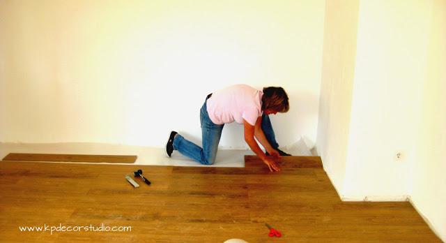 como instalar suelo de parquet tu mismo