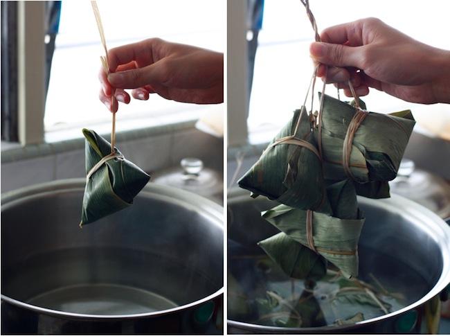how long to boil bak chang