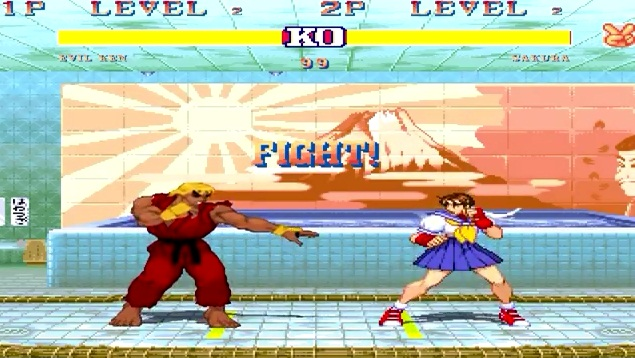 Game street fighter mugen Evil Ken