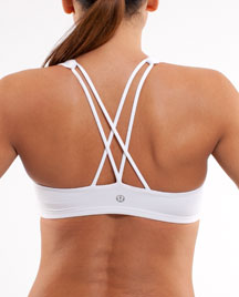 lululemon free to be sports bra  white