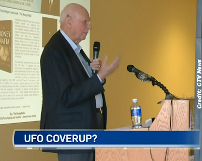 UFO Cover-Up, Claims Former Defence Minister