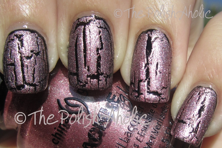 The PolishAholic: China Glaze Crackle Metals Collection Swatches!