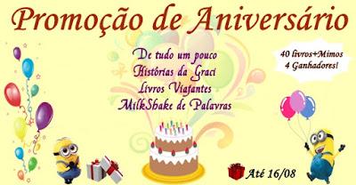 SORTEIO #48 - PROMOÇÃO DE ANIVERSÁRIO