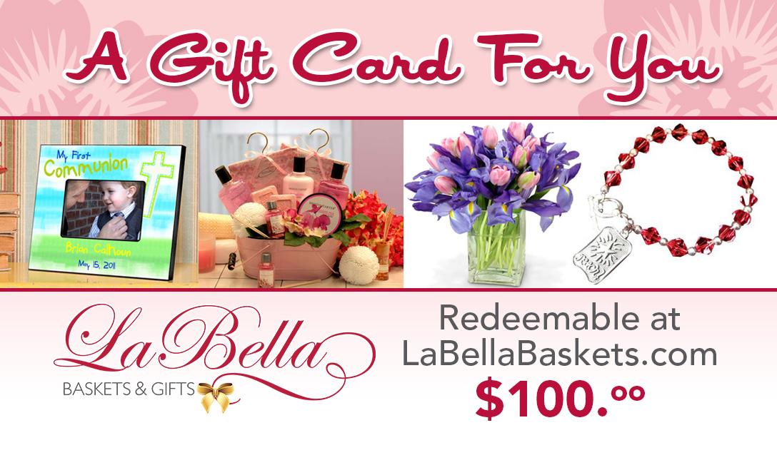 LA BELLA BASKETS E-CARDS