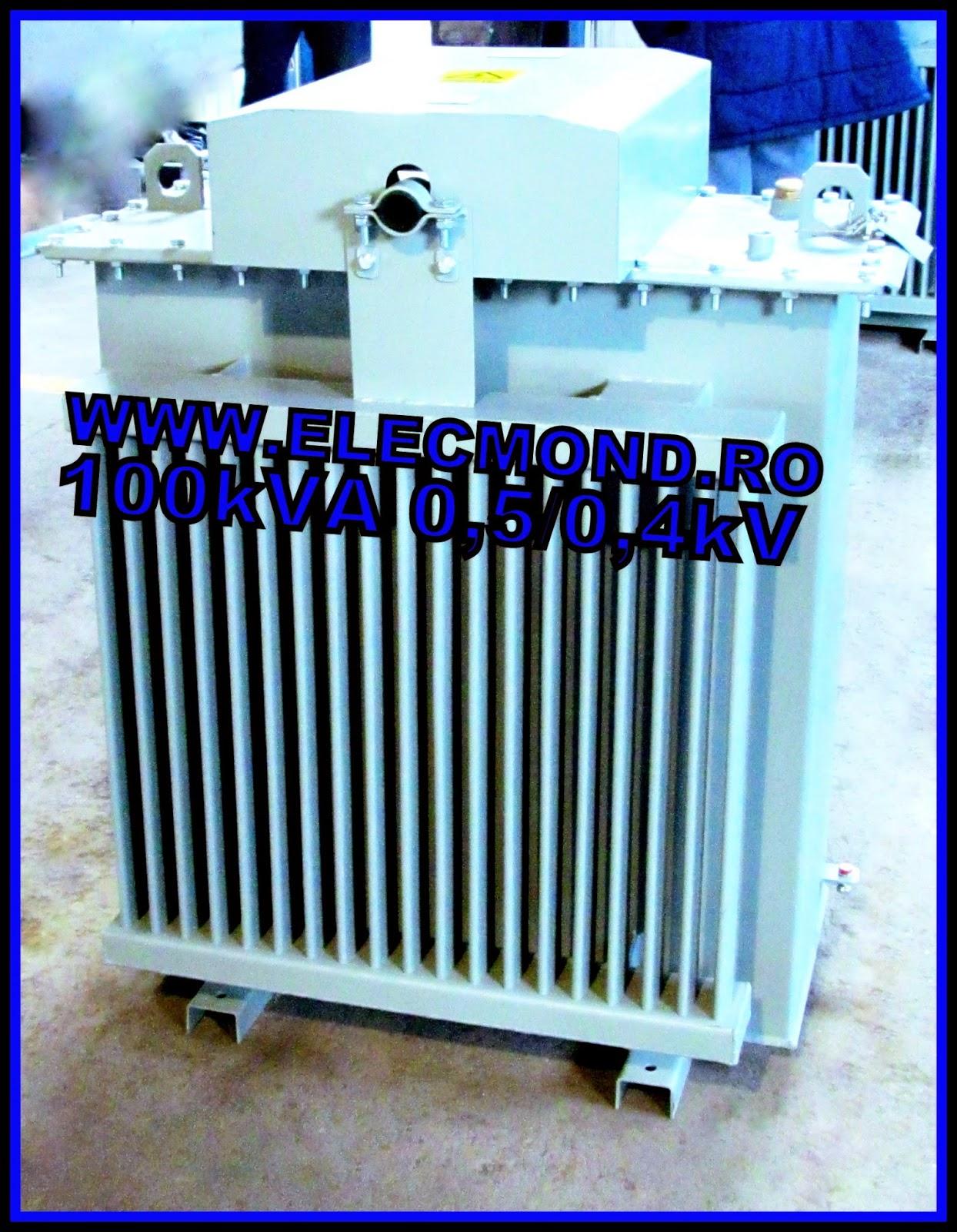 #Transformator 100kVA 0,5/0,4kV , #Transformatoare 100kVA 0,5/0,4kV , transformatoare speciale , transformatoare electrice , Elecmond , fabrica transformatoare , transformatoare in ulei