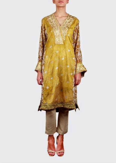 Sana Safinaz- Formal Dresses For Eid 2014
