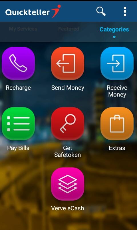 send money using QuickTeller