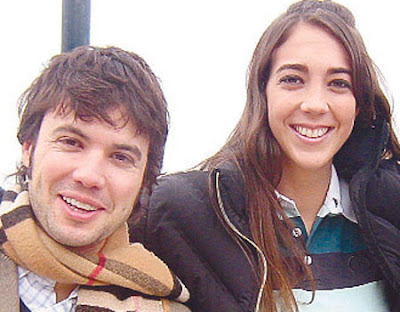 Chiara Pinasco con Bruno Pinasco