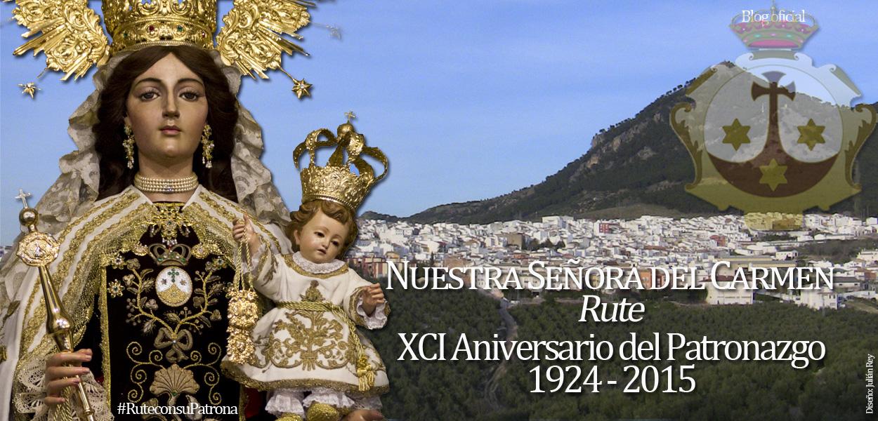 Nuestra Señora del Carmen, Reina, Señora y Patrona de Rute