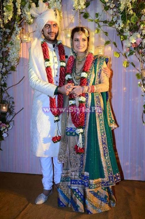 diya mirza husband photo