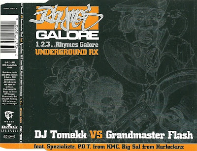 DJ Tomekk vs. Grandmaster Flash - 1, 2, 3,… Rhymes Galore (Remix) (CDS) (1999) (FLAC + 320 kbps)
