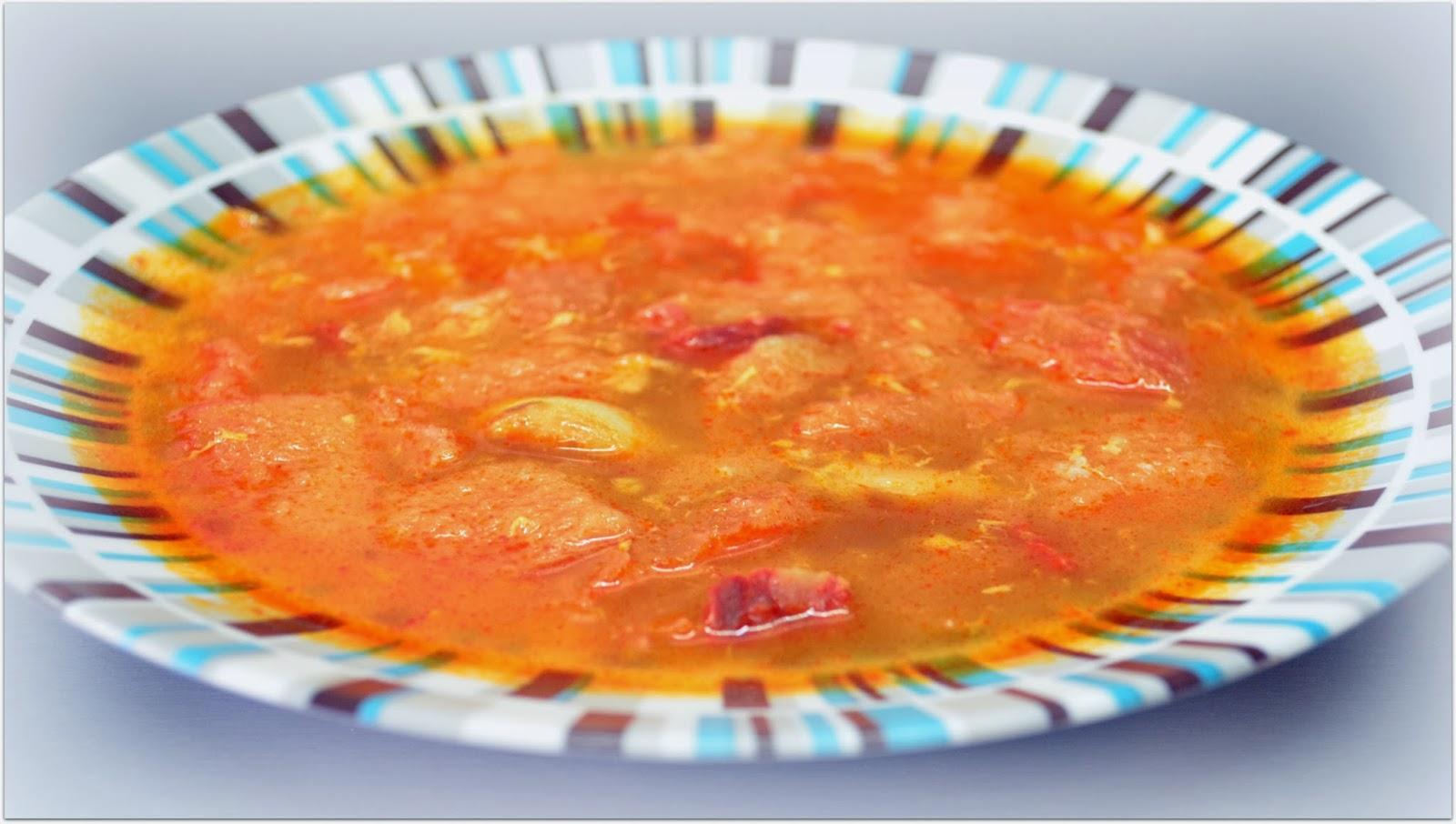 sopa Castellana - Recetas con pan duro
