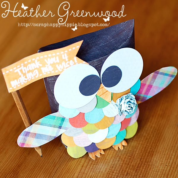 Pillow Box Owl - Heather Greenwood Designs