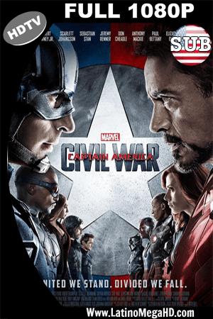 Capitan America: Civil War (2016) Subtitulado HDTV 1080P (2016)