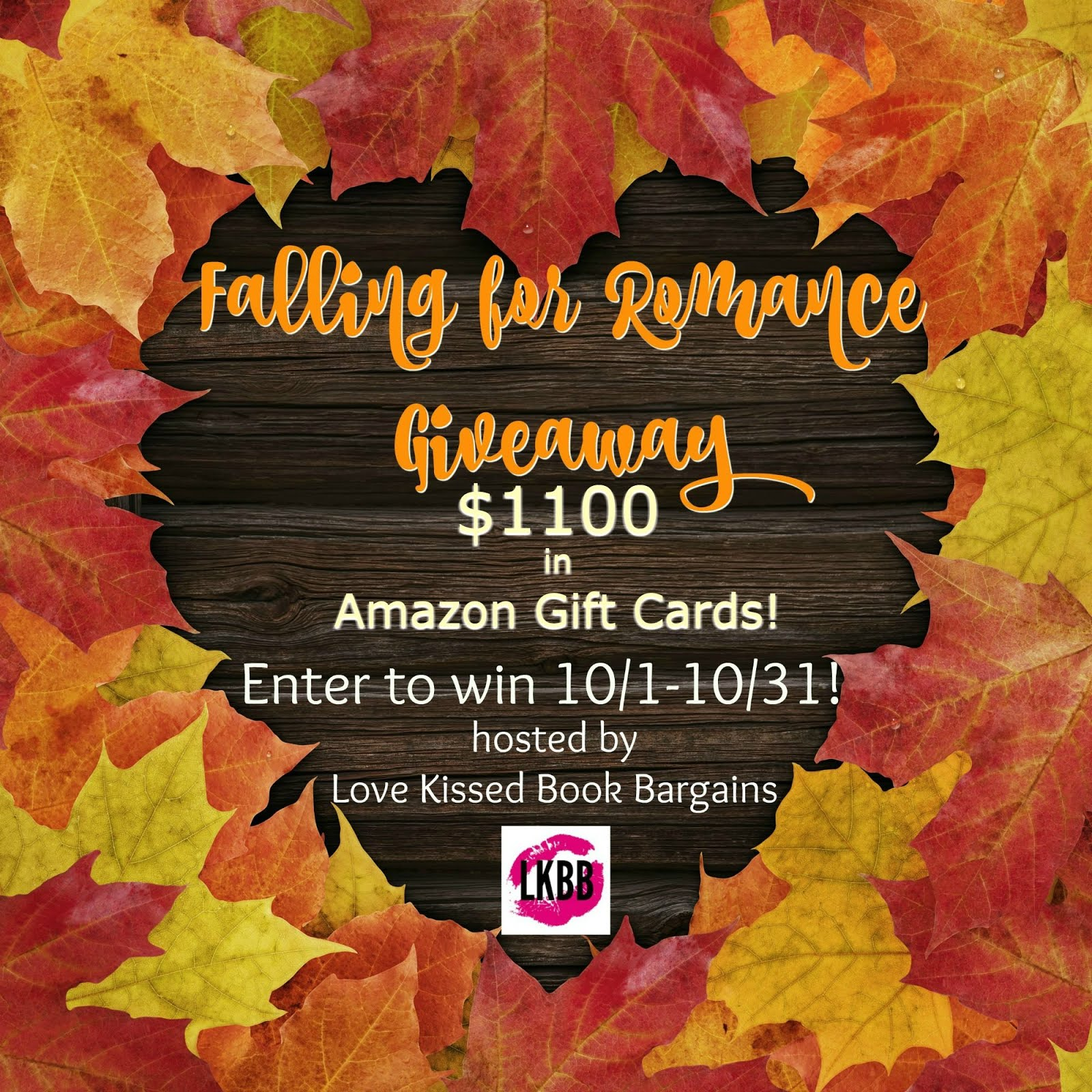Falling for Romance Giveaway Oct 1-31