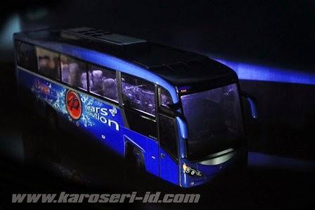 Miniatur Bus Evonext GT MB OH 1830