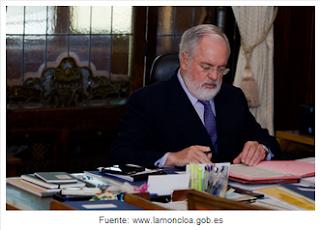 Arias Cañete ministro de agricultura, comercio y medio ambiente, cadena alimentaria