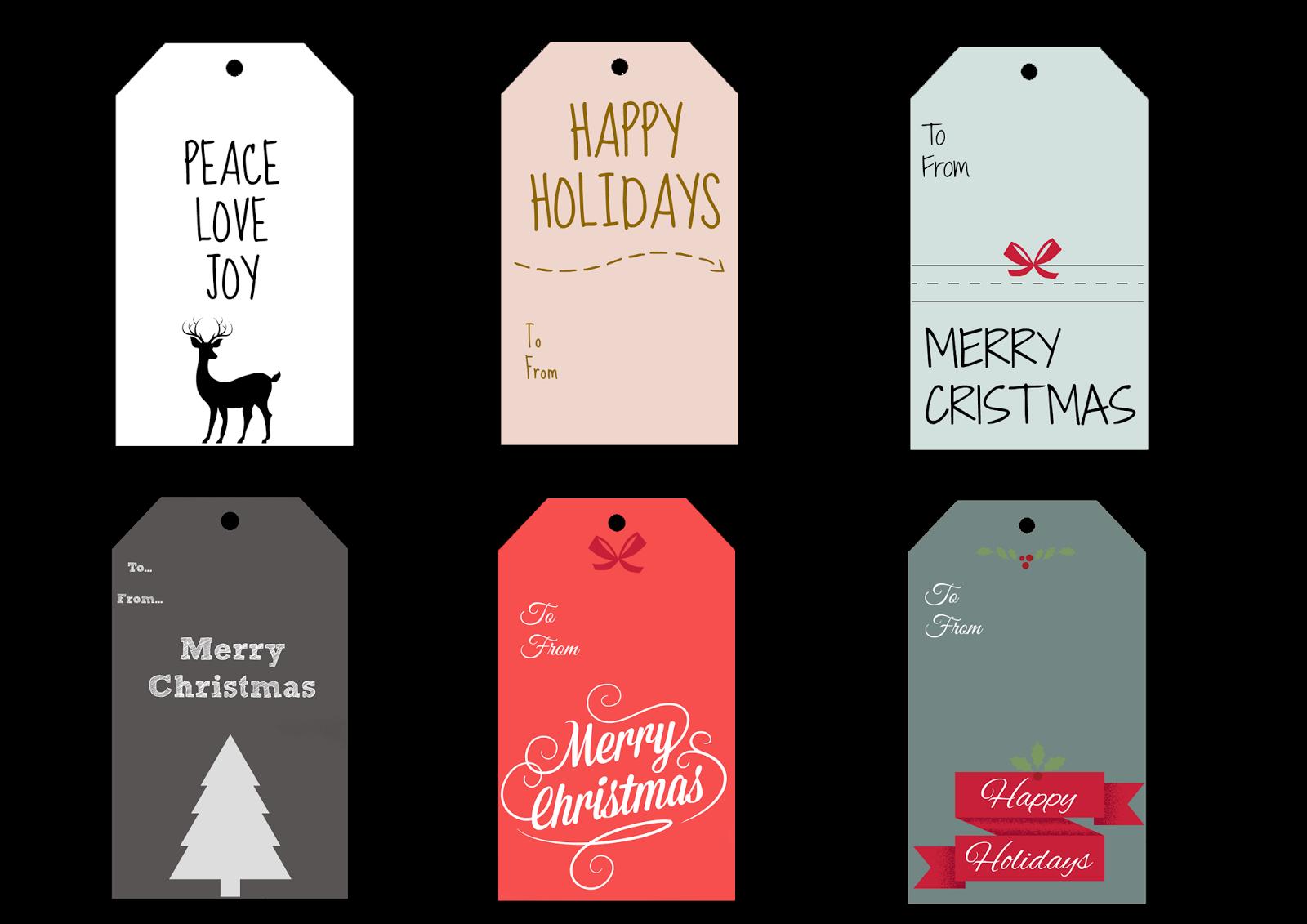 christmas gift tags καρτες δωρων