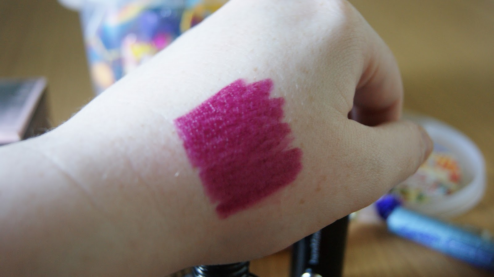 Bare Minerals Marvelous Moxie Lipstick in Lead The Way Swatch
