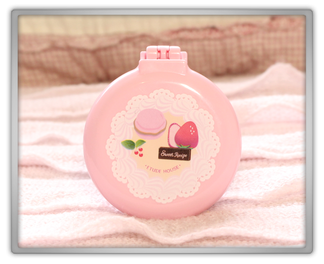 Etude House Haul Review accessories kawaii cute pink ebay beauty korean cosmetics strawberry cake pocket mirror