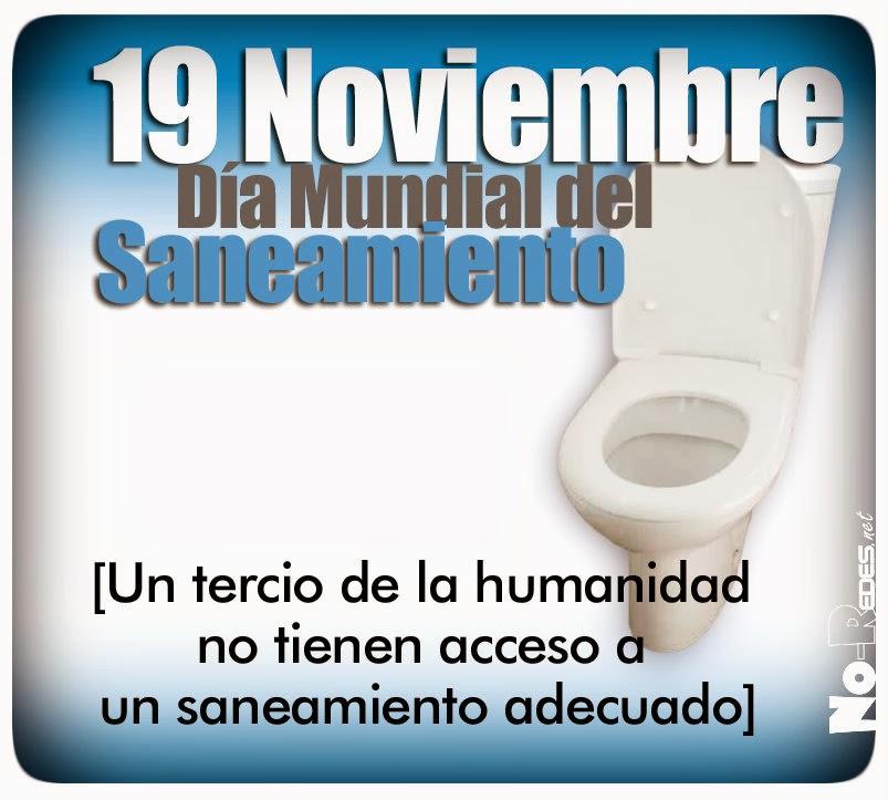 martes 19 es el Día Mundial del Saneamiento