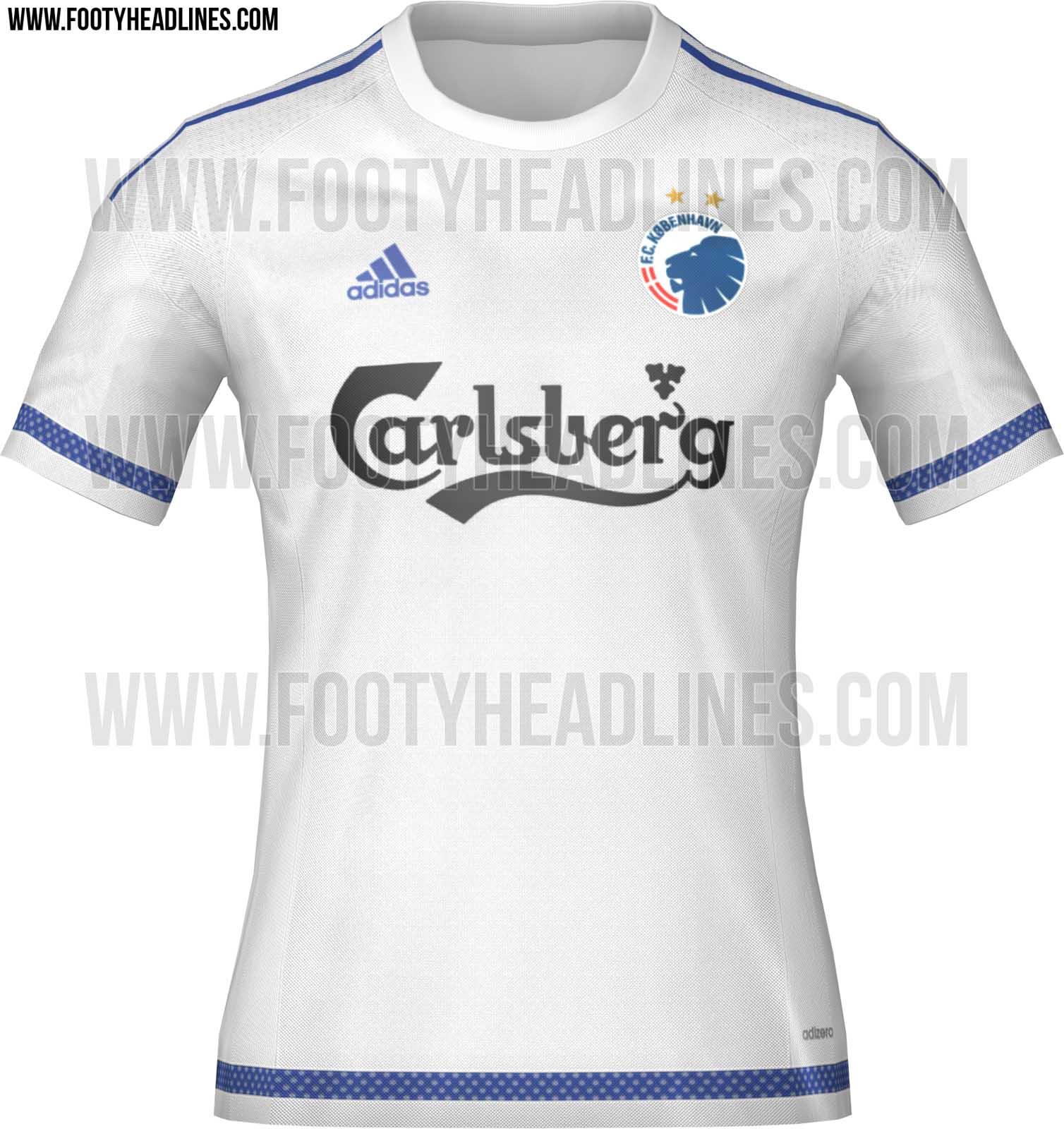 FC København hjemmebanetrøje 2015/2016