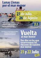 Lunas Llenas en Kayak por el Mar Menor