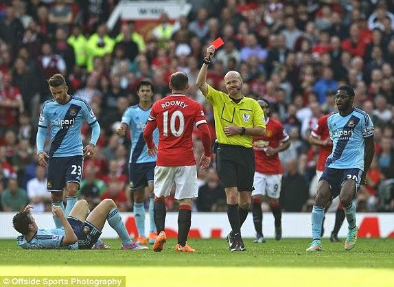 Rooney giúp Man Utd có trận thắng xấu hổ trước West ham