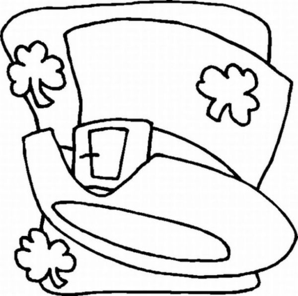 christian st patrick coloring pages - photo#22