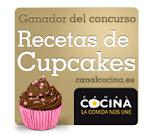 Ganadora Concurso Cupcakes Canal Cocina